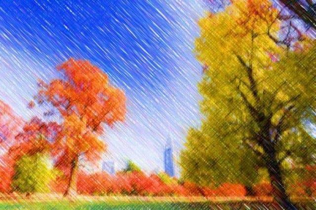 Осенние пейзажи 2021 года - большая фото подборка (8)