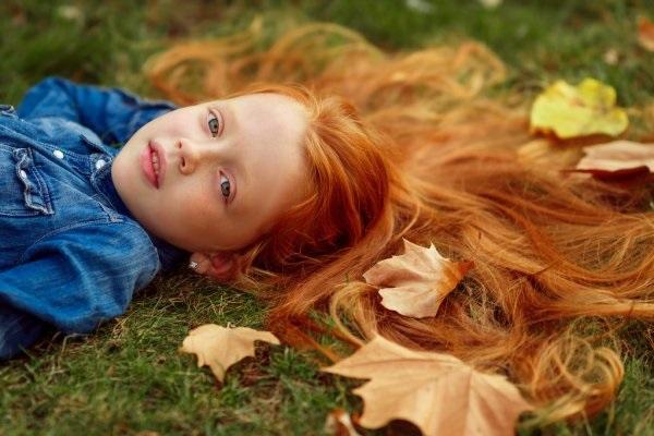 Рыжая девушка и осень - красивые картинки за 2021 год (28)
