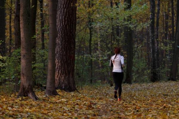 Девушка в лесу спиной фото и картинки - подборка (14)
