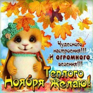 Картинки и открытки на утро ноября в хорошем качестве (16)