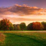 Картинки осеннего неба с облаками для детей