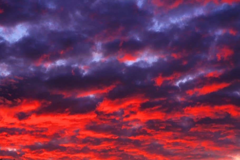 Картинки осеннего неба с облаками для детей (17)