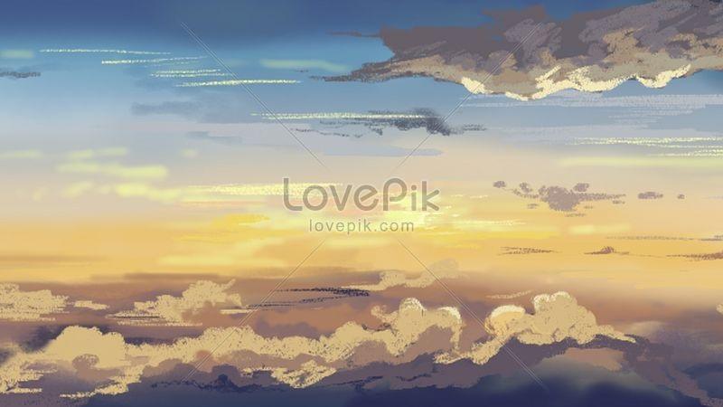 Картинки осеннего неба с облаками для детей (19)