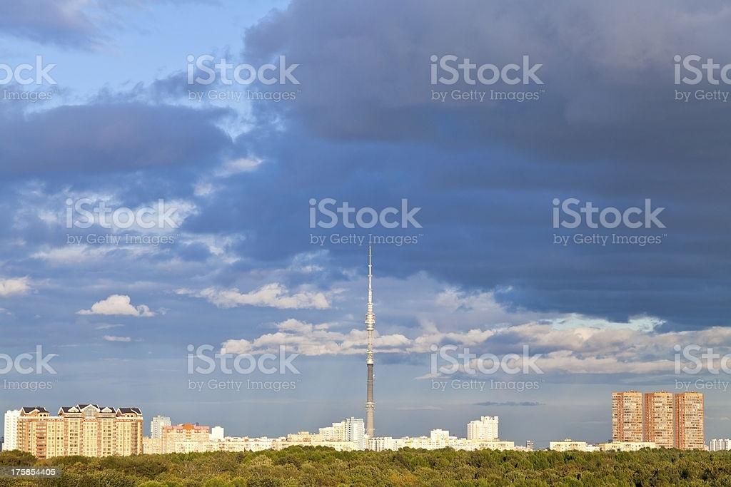 Картинки осеннего неба с облаками для детей (2)