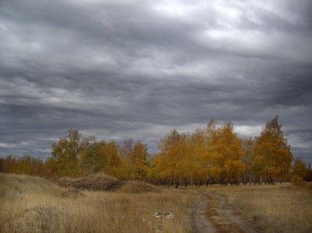 Картинки осеннего неба с облаками для детей (24)