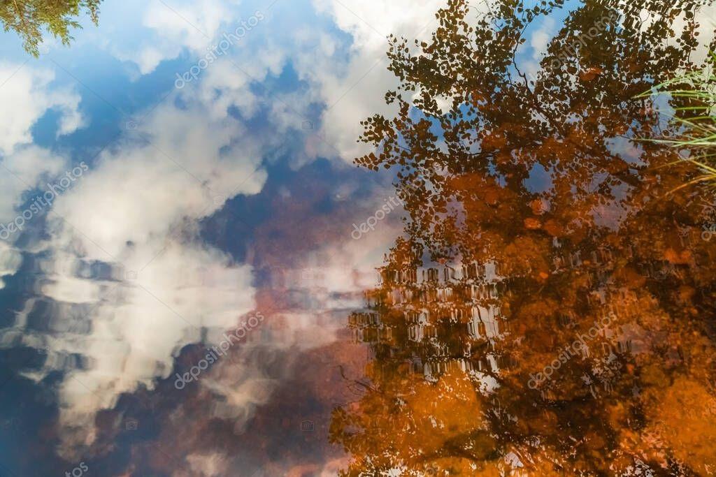 Картинки осеннего неба с облаками для детей (27)