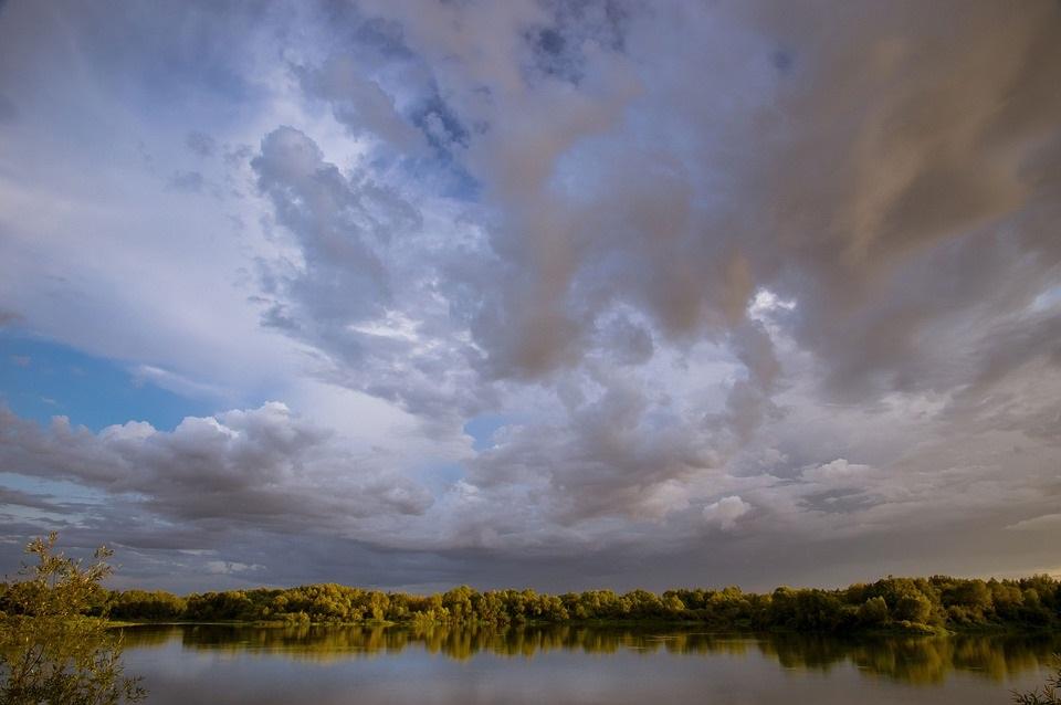 Картинки осеннего неба с облаками для детей (7)