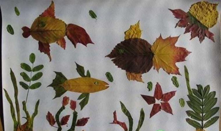 Красивые картинки осенний листопад для детей (10)