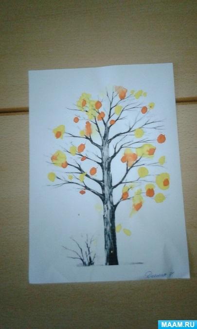 Красивые картинки осенний листопад для детей (11)