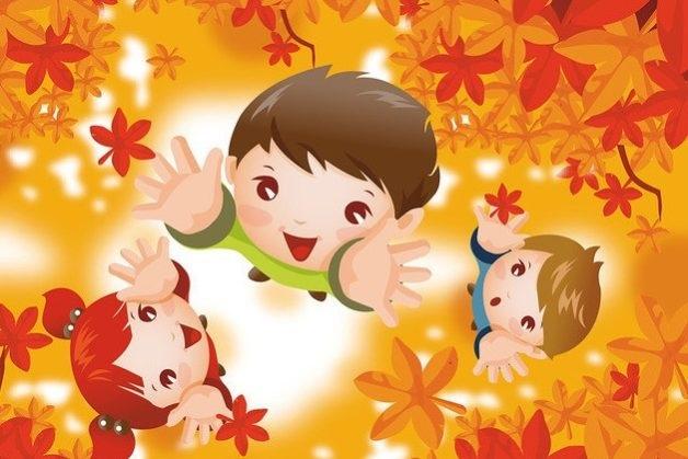 Красивые картинки осенний листопад для детей (12)