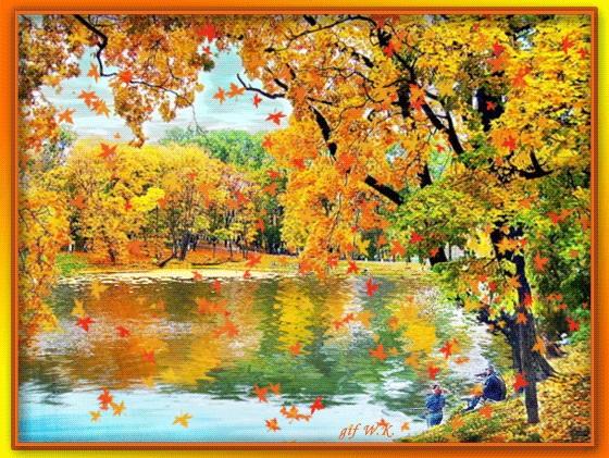 Красивые картинки осенний листопад для детей (17)