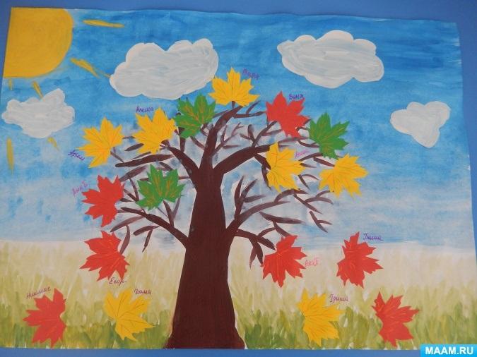 Красивые картинки осенний листопад для детей (2)