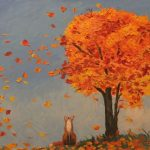 Красивые картинки осенний листопад для детей