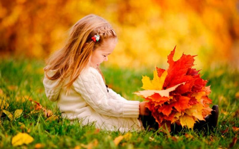Красивые картинки осенний листопад для детей (4)