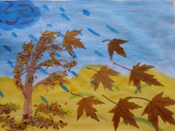 Красивые картинки осенний листопад для детей (7)