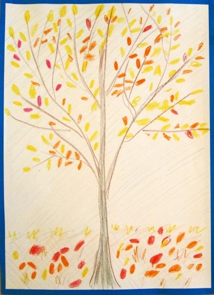 Красивые картинки осенний листопад для детей (8)
