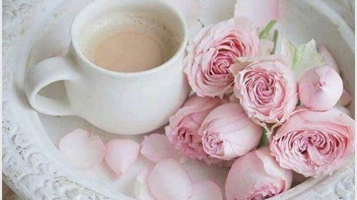 Красивые фото кофе и цветы   большая подборка (12)