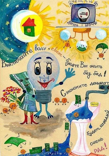 Энергосбережение в картинках для детей - коллекция (9)