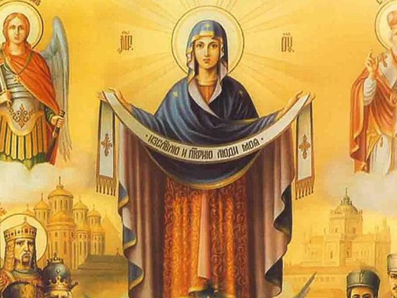 14 октября Покров день картинки и открытки - сборка (14)